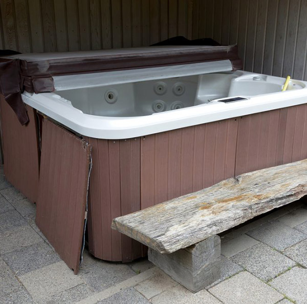 Hot Tub Removal